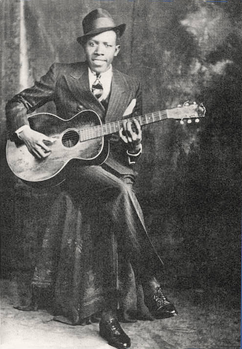 robert johson and his guitar