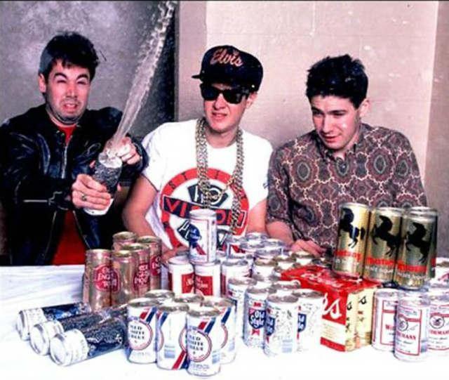 the beasties boys drinking beers