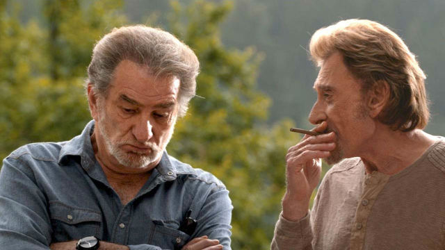 johnny hallyday and eddy mitchell in salaud on t'aime