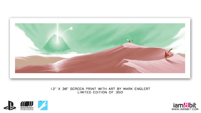 print collector of journey, signed and numbered