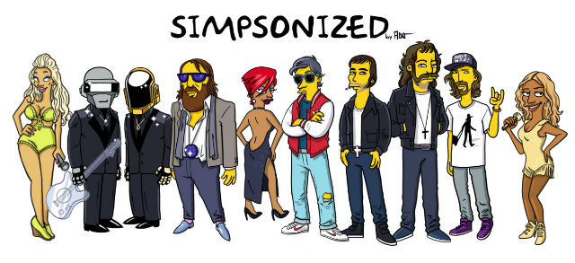 simpsonized by adn, banner