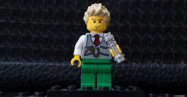 david bowie as a lego character