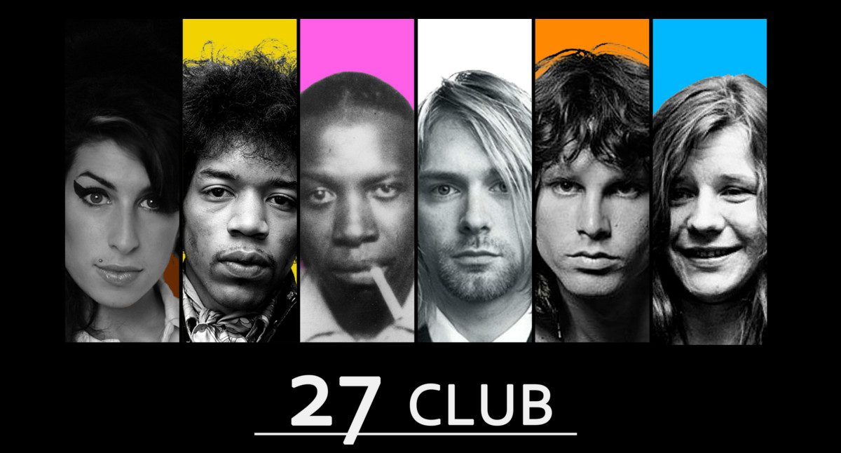 27 club, the legends of rock