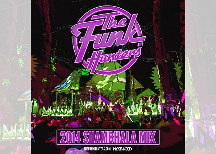 funk hunters shambhala mix 2014 covers
