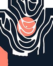 Cb Vinyl Record Art Logo