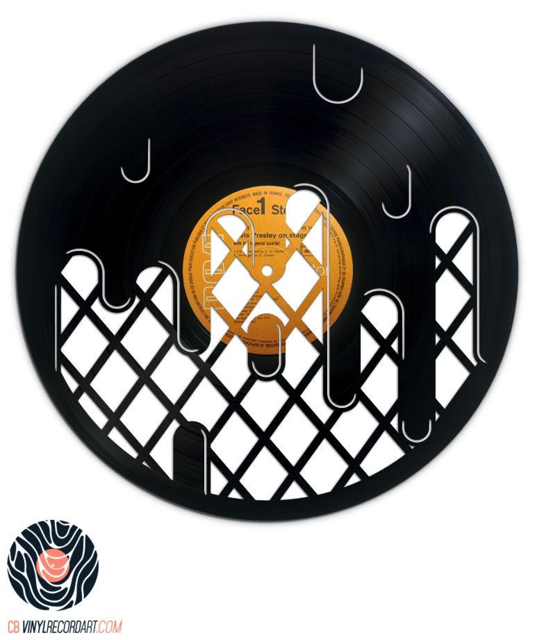 Ice Cream – Objet de décoration sur disque vinyle