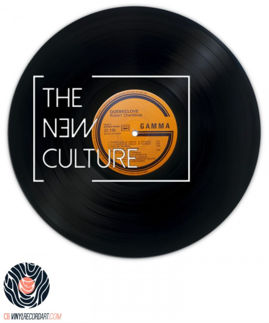 The New Culture - Sculpture sur disque vinyle
