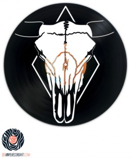 Bull Skull - Art and Design on vinyl record