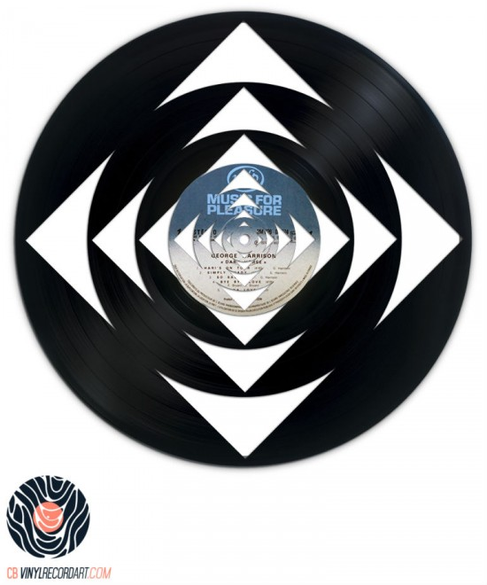 Geometric Deep - Art and Sculpture on vinyl record