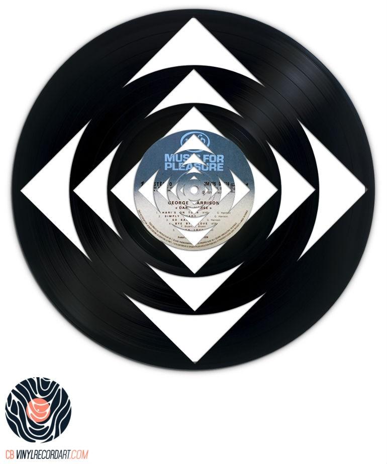 Geometric Deep - Art et Sculpture sur disque vinyle