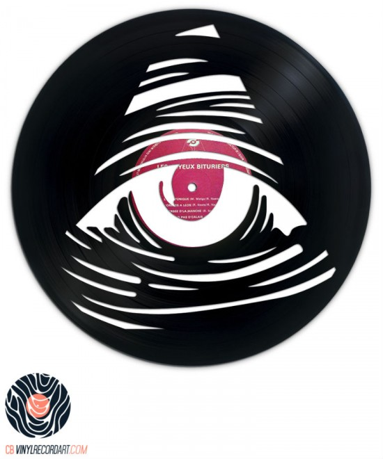Eye See You - Sculpture et Design sur disque vinyle