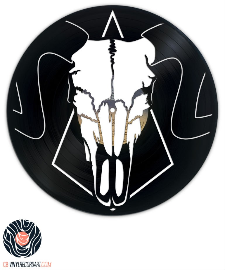 Ram Skull - Art and Creation on vinyl record