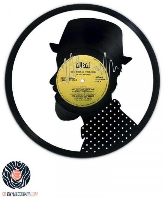 Electro Addict - Création et Sculpture sur disque vinyle