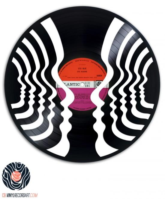 Face to Face - Œuvre sur disque vinyle
