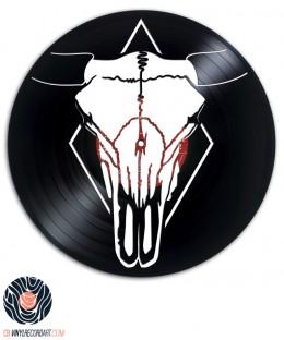 Bull Skull - Art and Design on vinyl record