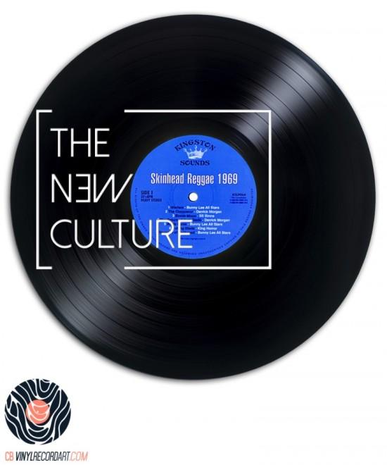The New Culture - Sculpture sur disque vinyle