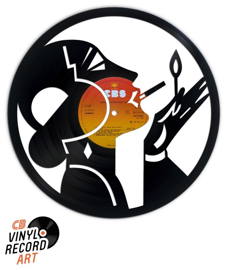 Good Old Days – Art Déco sur disque vinyle recyclé