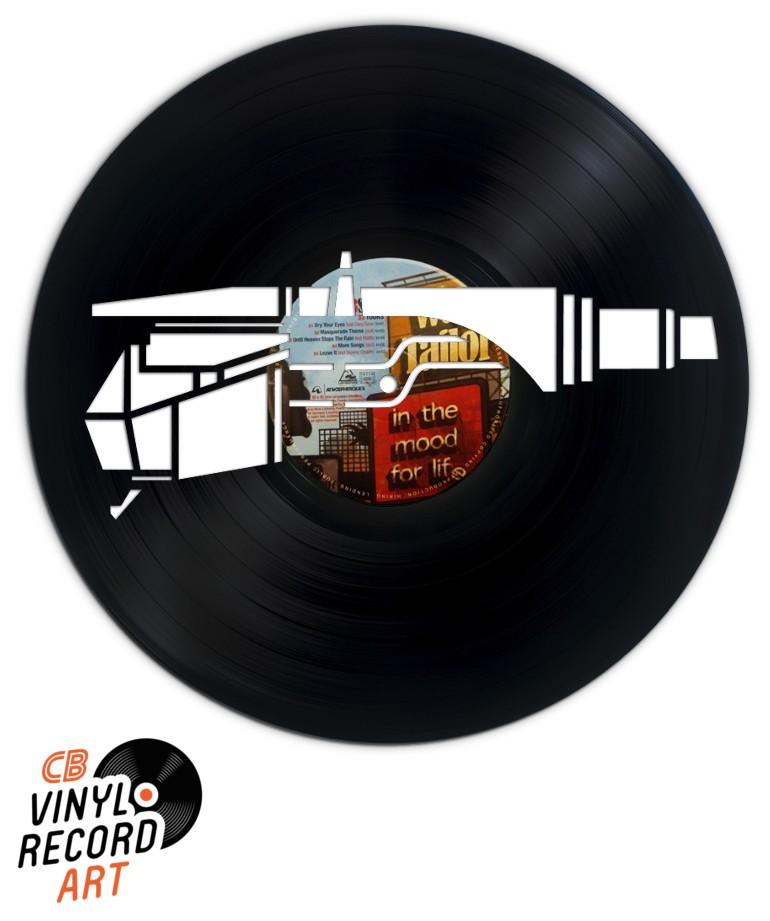 Cellule, tête de lecture – Décoration murale disque vinyle
