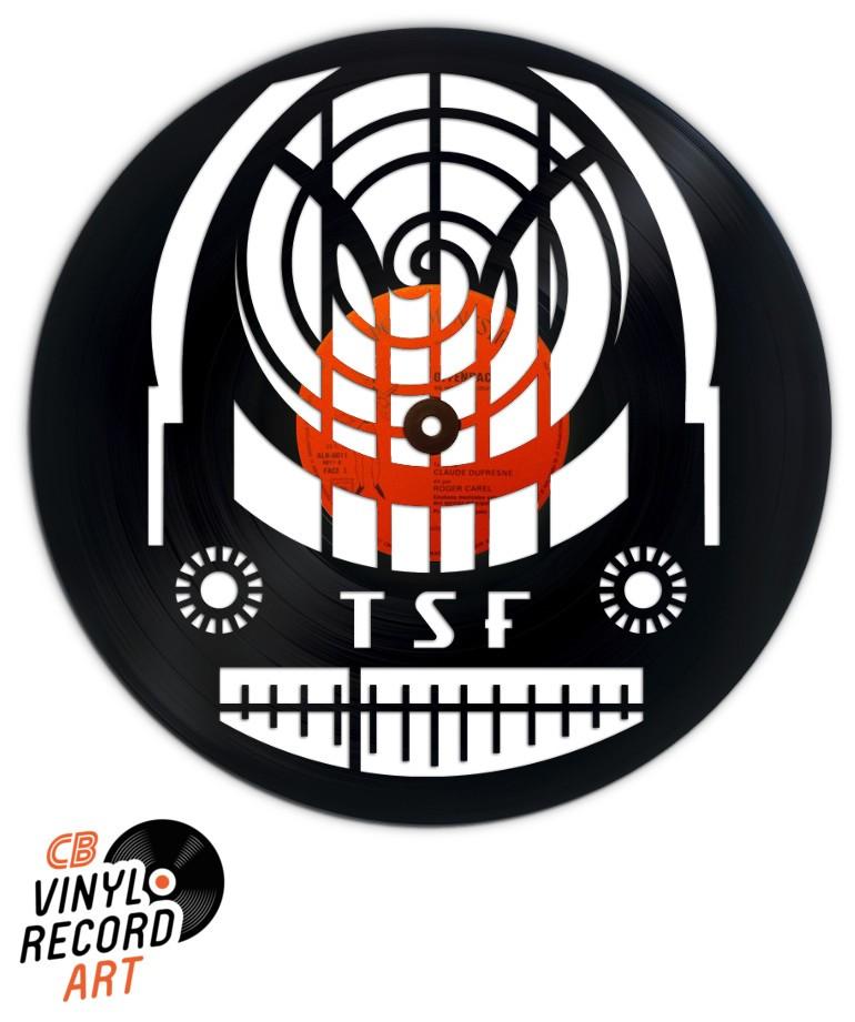 Radio Cathédrale – Art, déco et sculpture sur disque vinyle recyclé