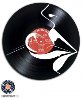 Lollipop - Art and Design on recycled vinyl record