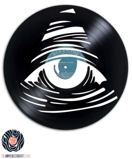Eye See You - Sculpture et Design sur disque vinyle