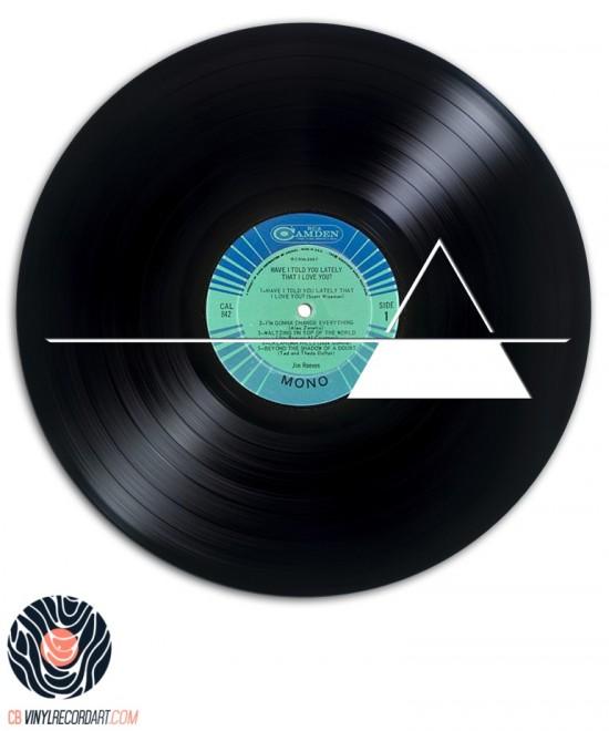 Delta - Sculpture et Gravure sur disque vinyle
