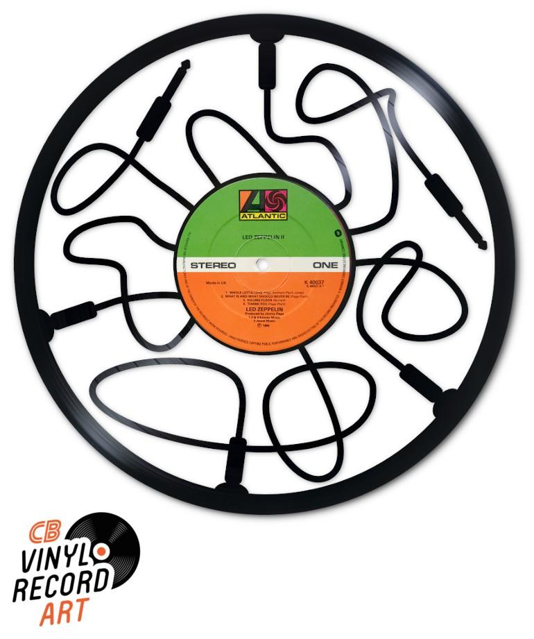 Jack Connection - Original decorative object on vinyl record