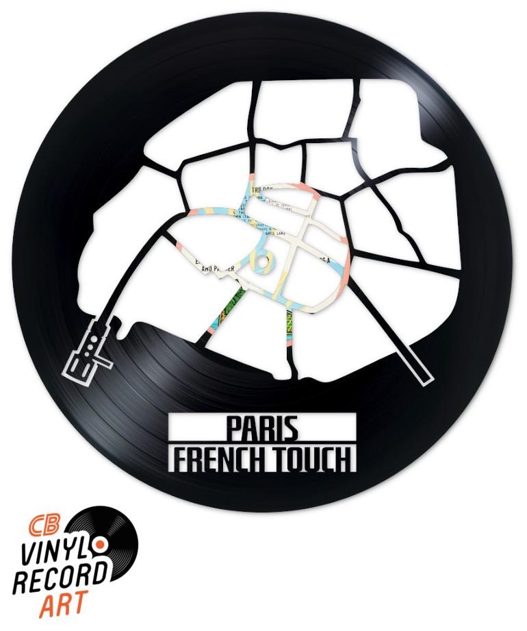 Paris French Touch – Décoration d'intérieur sur disque vinyle