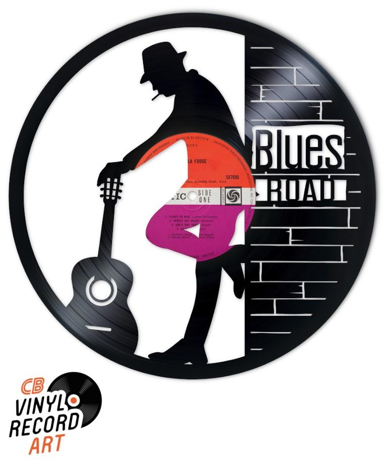 Blues Road - Création et Design sur disque vinyle