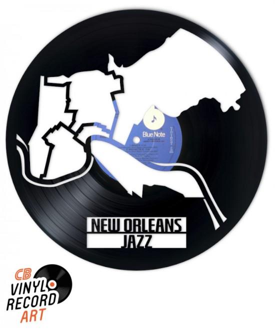 Nouvelle Orléans Jazz – Art et déco sur disque vinyle