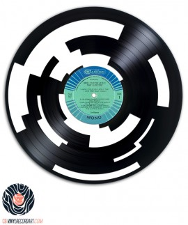 Sample your Way Out - Art on vinyl record