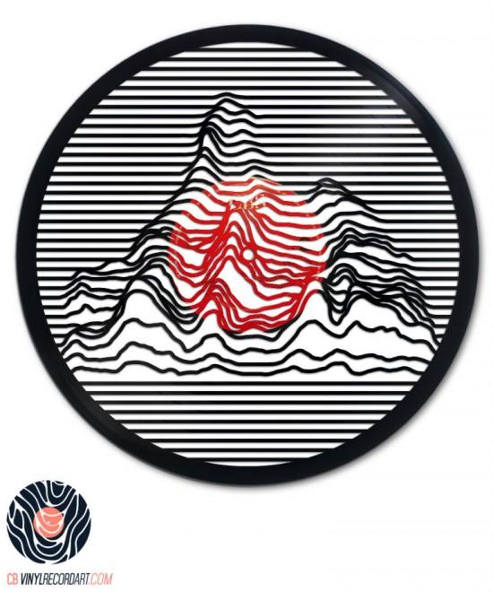 Electro Waves - Gravure et Design sur disque vinyle