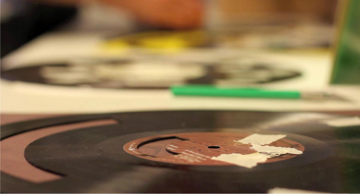 D 233 Couper Des Samples Au Laser Dans Un Disque Vinyle
