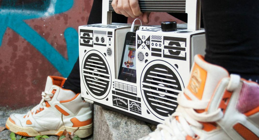the diy berlin boombox