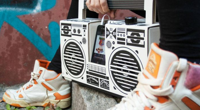 the diy berlin boombox