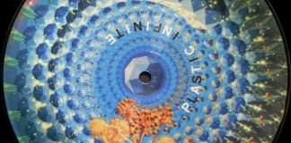 Plastic Infinte project, 7 inch picture disc animated