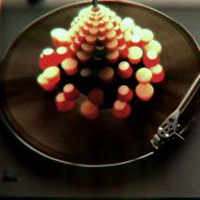 3d animation on vinyl record