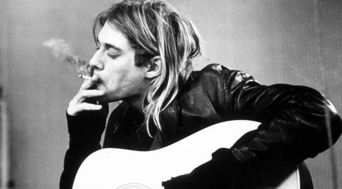 the legend of the rock music from seattle : kurt cobain