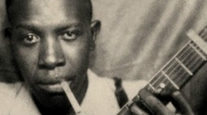 robert johnson and his guitar