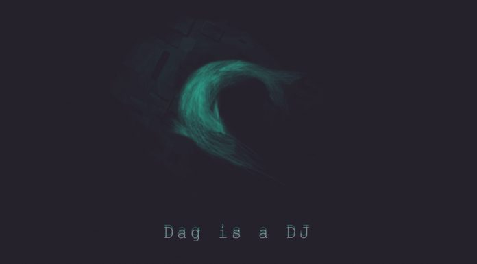 dag the dj, a fish creating electro music