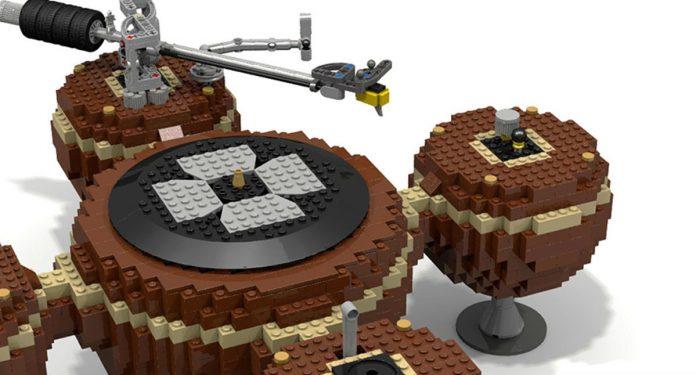 lego turntable
