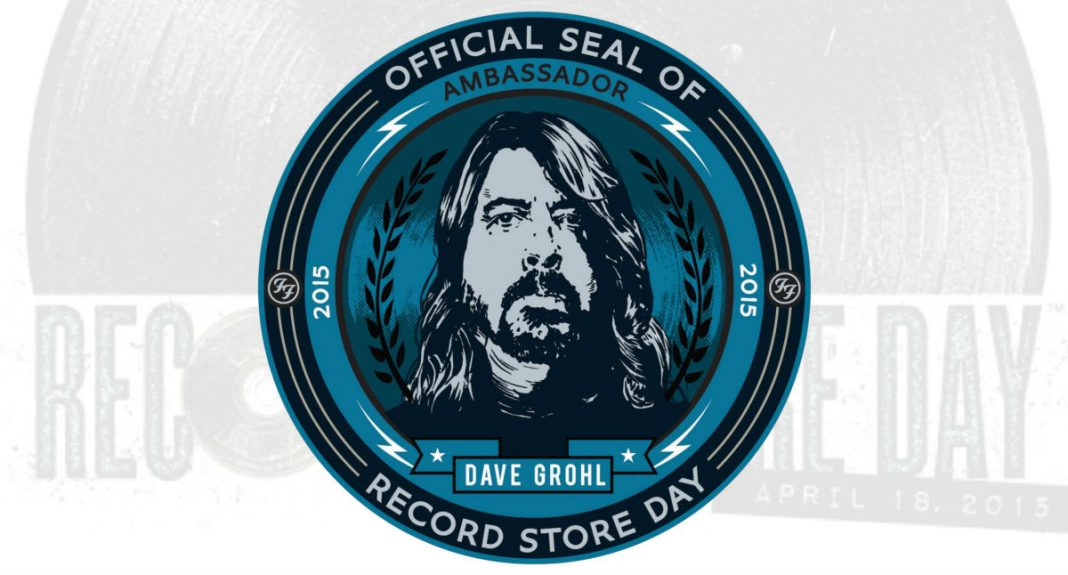 record store day, 2015 with dave grohl