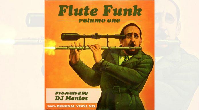 cover dj mentos, flute funk mix volume 1