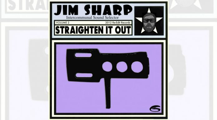jim sharp, Straighten It Out Volume 2 cover