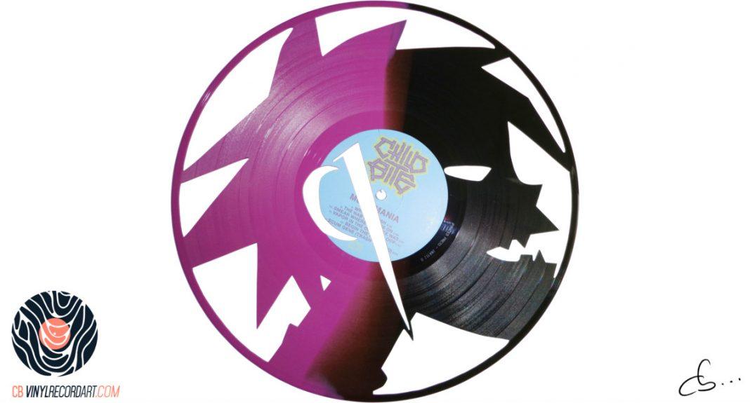handmade vinyl record art by cb... - 2D, Gorillaz