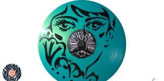 handmade vinyl record art by cb... - Woman portrait