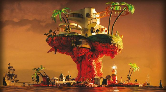 album cover plastic beach, gorillaz