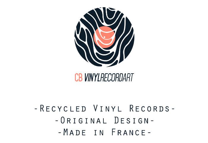 project presentation - cb vinyl record art