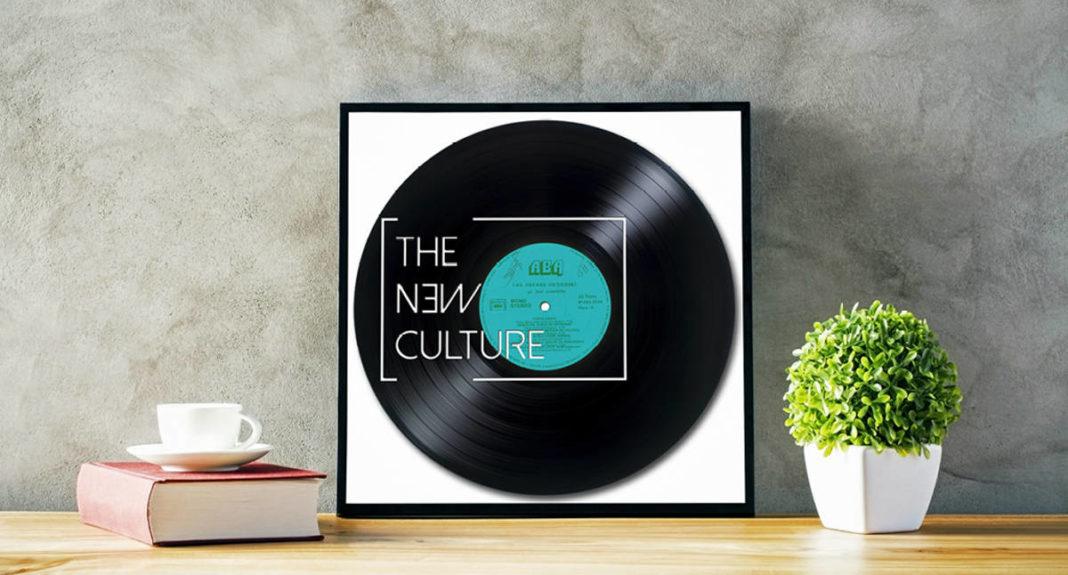 vinyl record header