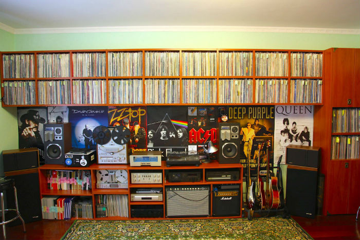 record collection of vadim